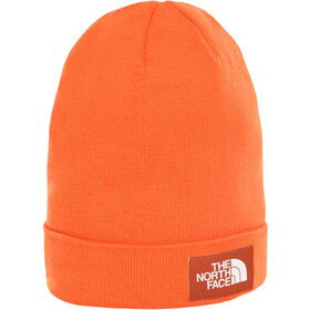 The North Face Worker Recycled Beanie Papaya Orange/Picante Red